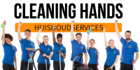 logo Cleaning Hands huishoudservices