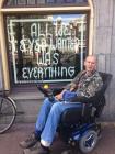 Foto van hulpvrager Ed in Amsterdam